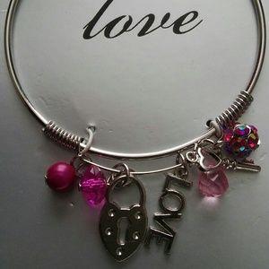 Jewelry - Women's Pink Love Bracelet